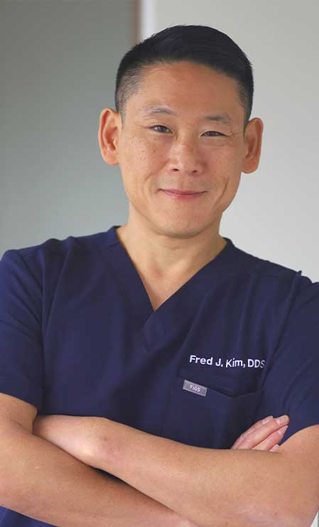 Dr Fred Kim of Pacific Smiles Dental Implant Center