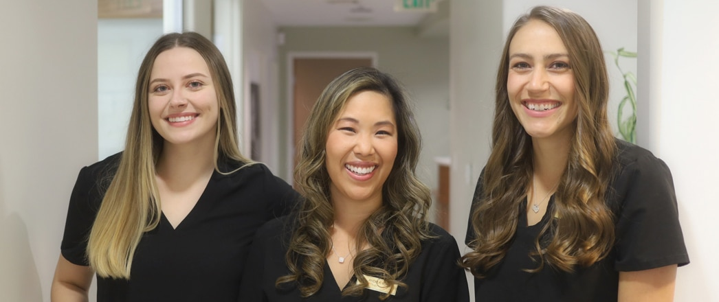 Our Awesome Dental Hygienists - Daniella, Andrea & Jill